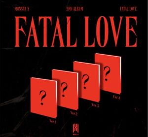 PREORDER-KPOP-MONSTA-X-FATAL-LOVE-Album-Vol-3-RANDOM-VERSION-SEALED