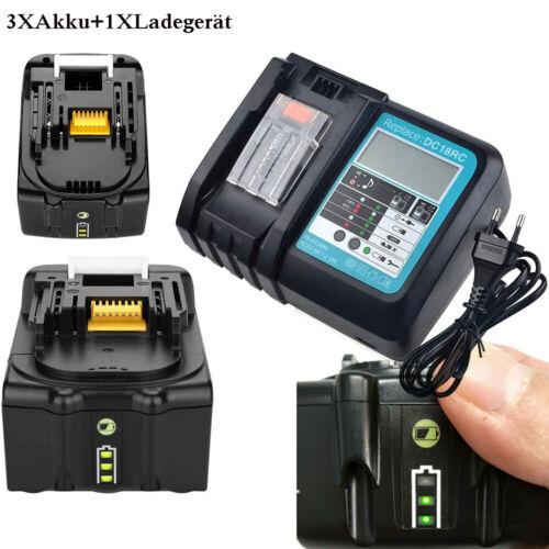 Akku für Makita BL1430B BL1440B 14.4V 3.0Ah-5.0Ah BL1450B Accu DC18RC Ladegerät