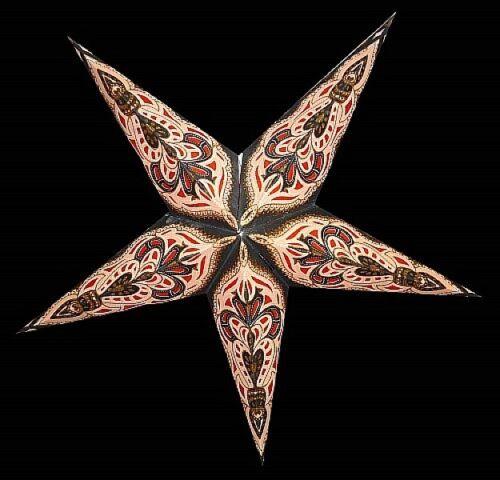 Adventsstern Weihnachtsstern Papierstern Leuchtstern Dekostern 60cm handmade 210