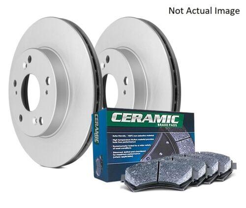 DuraGo BK7065916 Ceramic Rear Disc Brake Pad and Rotor Kit