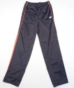 New-Balance-Gray-amp-Orange-Track-Pants-Youth-Boys-14-16-NWT