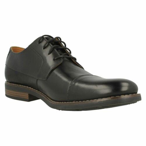 CLARKS Becken Cap Homme En Cuir Oxford à Lacets Chaussure