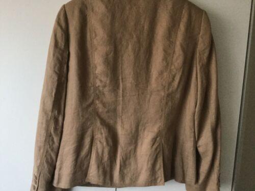 16 di lino taglia Tan In giacca una Per Immaculate qXwFZnafSS