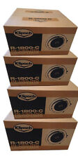 "Klipsch R-1800-C 8""ceiling speaker White 4 Speaks -  Brand New, Factory sealed!"