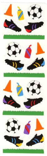 Cleats Soccer Soccer Ball Mrs 4 Strips Grossman/'s Stickers Cones Grass