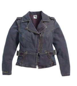 97570 Davidson 16vw Ladies Harley Twill Adventure Denim Jacket 'Twill ZgfxaqA