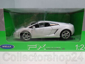 Image Is Loading Welly Lamborghini Gallardo LP560 4 White 1 24
