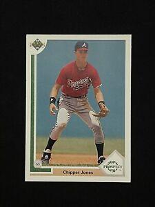 1991 Upper Deck Chipper Jones #55 SP Rookie Card MINT Atlanta Braves HOF