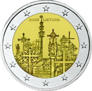 Litouwen-2020-Hill-of-crosses-2-euro-CC-UNC