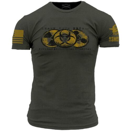 Learn Your NBC/'s T-Shirt ASMDSS Men/'s Short Sleeve Tee Shirt Gray