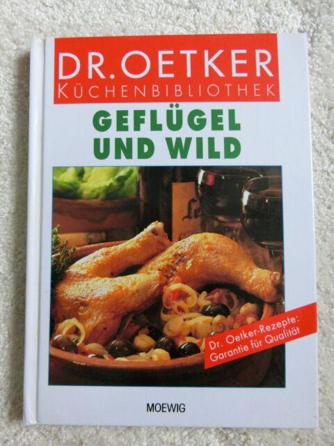 Dr. Oetker Küchenbibliothek, Kochbuch, Geflügel und Wild