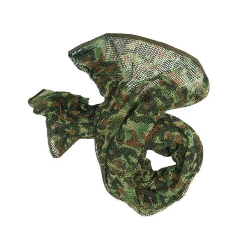 Tactical Scrim Net Kommando Jagd Tarnung Gesicht Schleier Schal Netting