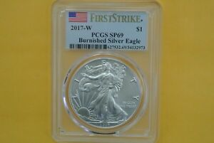 During the special sale period 2017-W PCGS SP69 BURNISHED