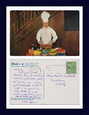 CALIFORNIA BERKELEY BLAKES CHEF IN BANQUET ROOM POSTED 30 APRIL 1948 TO ESCALON