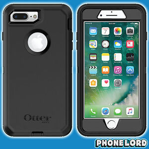 Genuine-OtterBox-Defender-case-cover-for-iPhone-7-8-PLUS-Heavy-Duty-rugged-BLACK