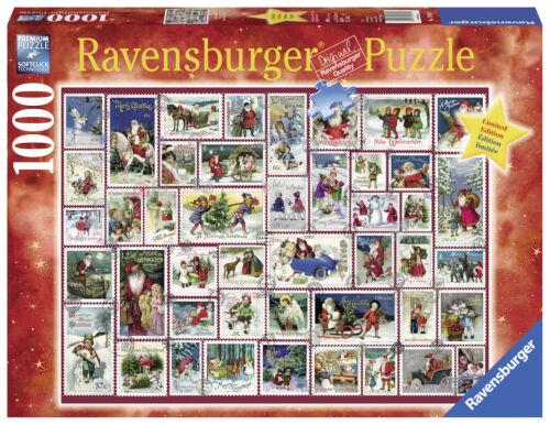 Neuf dans sa boîte Ravensburger Puzzle RARE Christmas Wishes Noël 1000 pièces