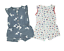 New-Carter-039-s-Baby-Girls-039-2-Pack-Romper-Set-Variety thumbnail 2