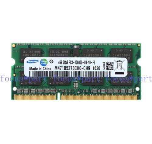 Samsung 4GB 8GB 16GB DDR3-1333MHz PC3-10600 SODIMM Laptop Memory notebook lot