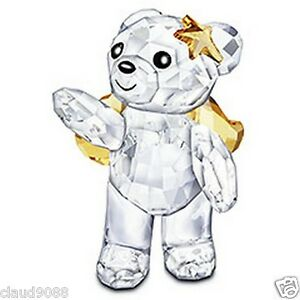 SWAROVSKI-SILVER-CRYSTAL-2010-ANNUAL-KRIS-BEAR-1054561-MINT-IN-BOX