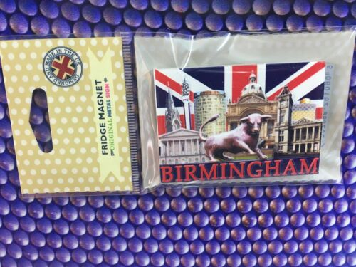 3D Souvenir Fridge Magnet Birmingham Landmarks
