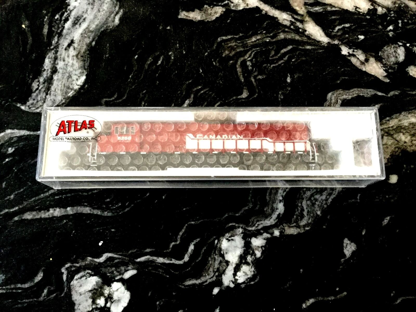 Atlas 1 160 N escala SD-60M Canadian Pacific Rd   6258 NCE para DCC   40002074 F S