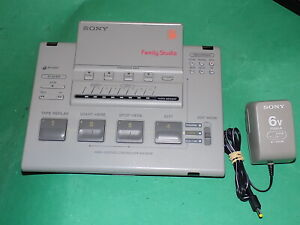 Sony famiglia Studio Video Editing Controller RM-E33F MADE JAPAN + Adattatore di rete