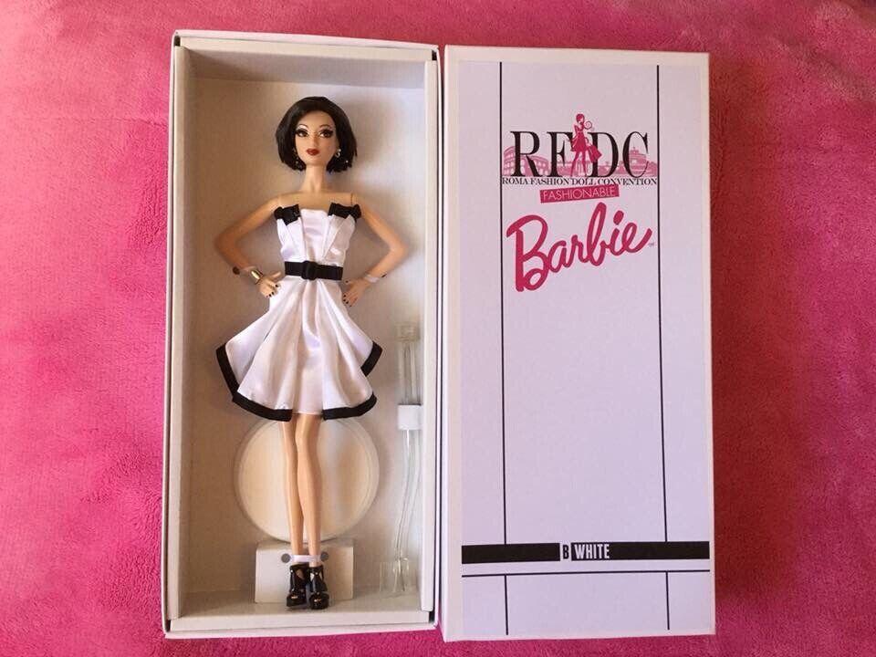 Barbie B-bianca B-bianca B-bianca Platinum by Artist Creations Roma moda bambola Convention NRFB 42e251