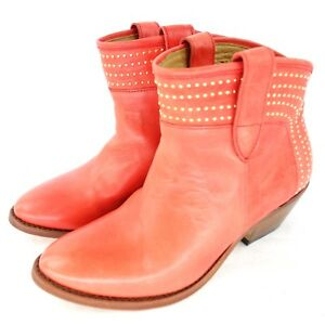 Perlita-Peaches-senora-botas-zapatos-botin-puebla-cuero-37-39-5-NP-269-nuevo