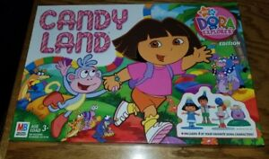 Dora The Explorer CANDY LAND Board Game Complete Nick Jr with Diego ...