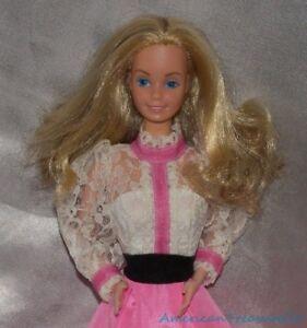 gorgeous vintage 80s 1982 angel face barbie doll superstar face w