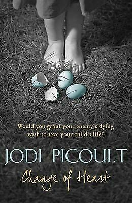"""""""AS NEW"""" Picoult, Jodi, Change of Heart, Book"""