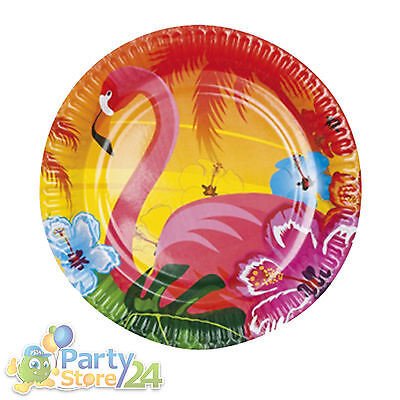 Hawaii Party Teller Beach Motto Feier Beachparty Pappteller Geburtstag Deko