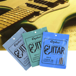 6-Set-Orphee-RX15-17-19-Regular-009-042-Electric-Guitar-Strings