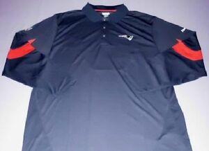 patriots long sleeve polo shirt