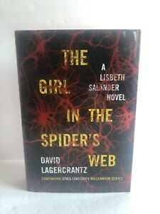 The-Girl-in-the-Spider-039-s-Web-by-David-Lagercrantz-Hardcover-Book-Millennium