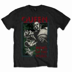Queen /'News Of The World/' T-Shirt NEW /& OFFICIAL!