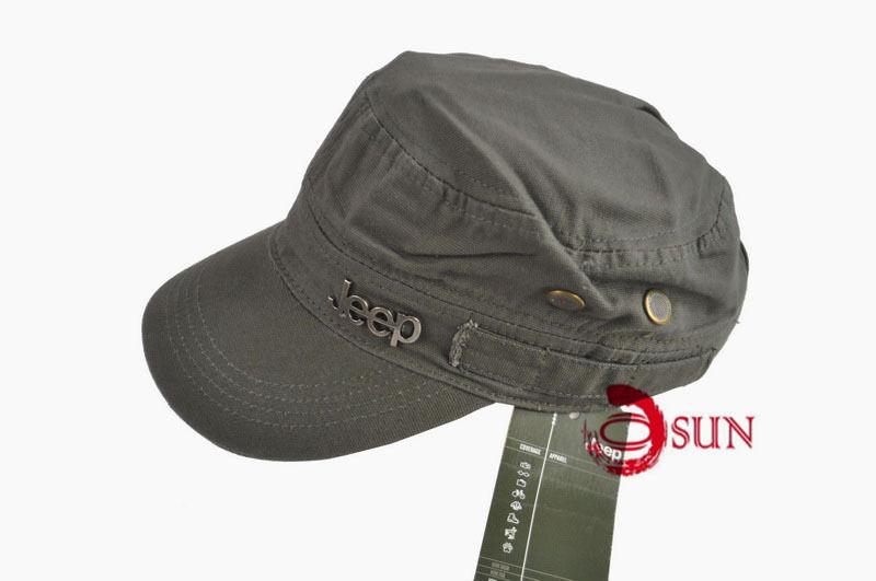 06353db4a3c New JEEP Jeep Black Khaki Army Green Hunting Caps Cap Cadet Military ...