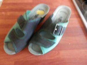 Ladies Rohde Shoes Sandals Blue