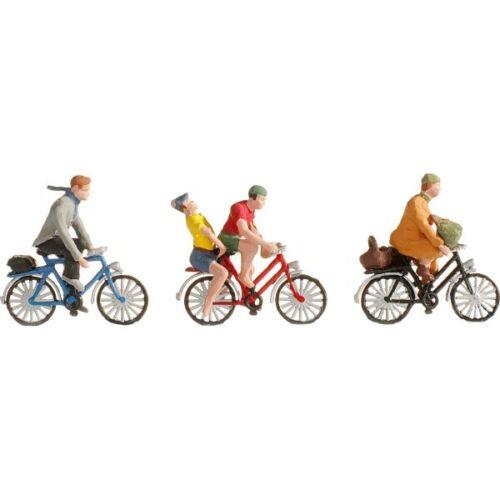 45898  Fahrradfahrer  3 Stck.NochTTNeu