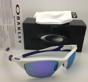 c51c60492b New OAKLEY Sunglasses HALF JACKET 2.0 OO9144-08 White with Violet ...