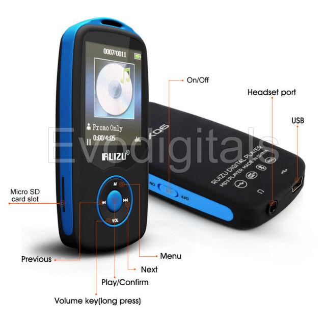 NEW EVO 64GB MICRO SD MEMORY CARD UPGRADE FOR EVODIGITALS RUIZU MP3 MP4 PLAYERS