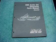 Arctic Cat 1988 Parts Manual Cheetah Snowmobile Book OEM #211