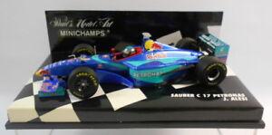 Minichamps-Escala-F1-1-43-430-980014-Sauber-C17-Petronas-J-Alesi