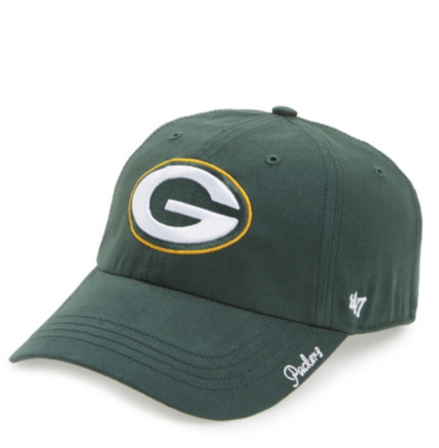 669044626c7 NFL Green Bay Packers 47 Brand Clean Up Team Adjustable Field Classic Hat  Cap