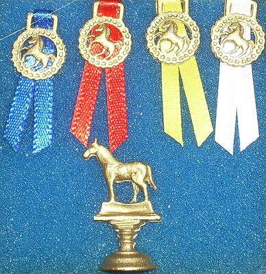 Blue Ribbon Horse #2565 1:12 Dollhouse Miniature Dressage Rodeo Equestrian