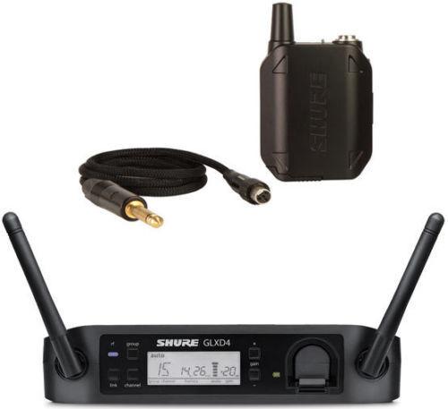 Shure GLXD Instrument Bodypack Digital Wireless System for Guitar oder Bass