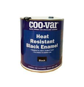 Heat Resistant Stove Paint Black