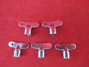 10 x Steckschlüssel 6mm Vierkant Wasserhahn Auslaufhahn Auslaufventil Zapfhahn