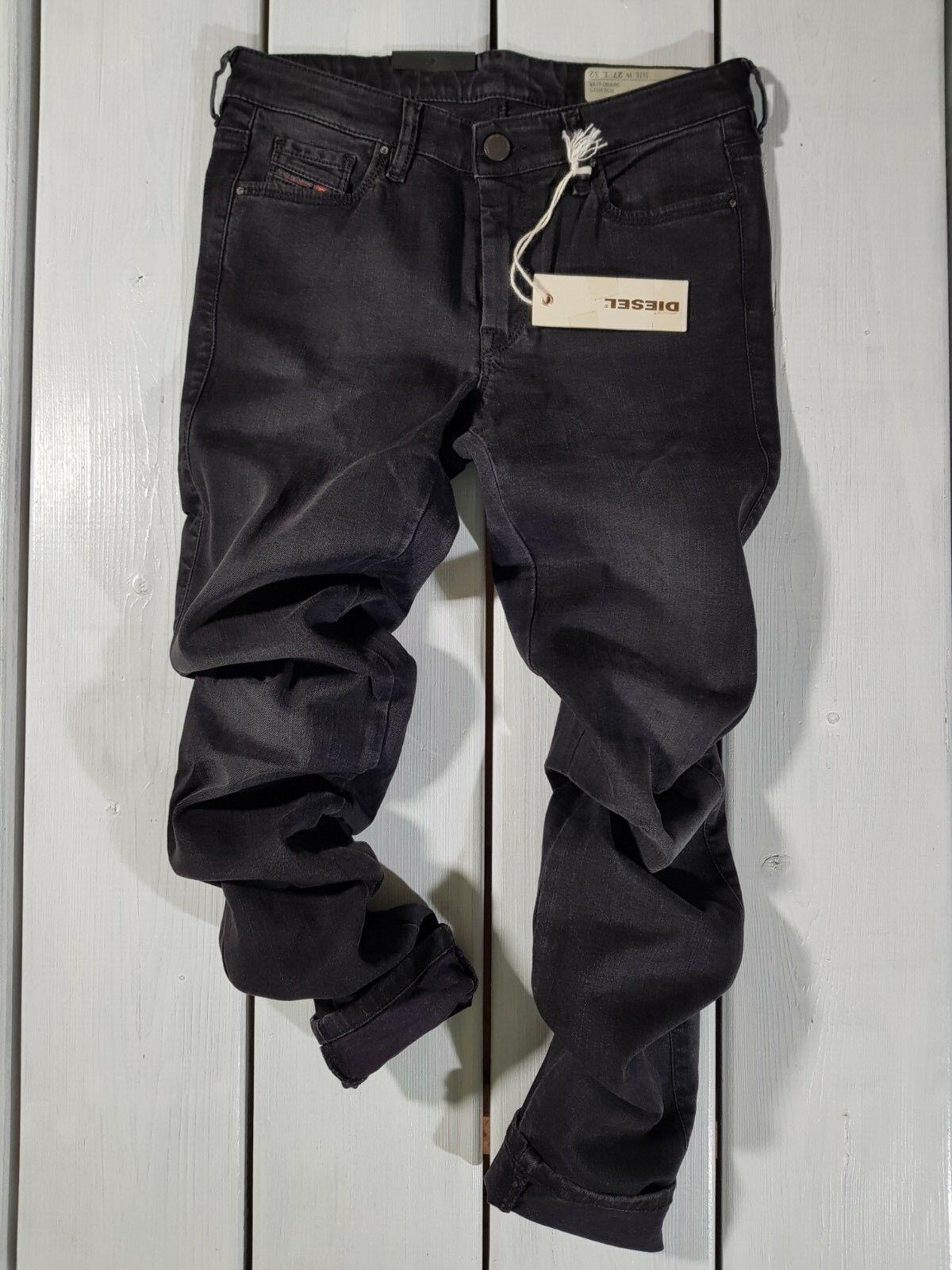 Neu Diesel DAMEN Jeans Doris 0668c Supereng Skinny Regular Größe