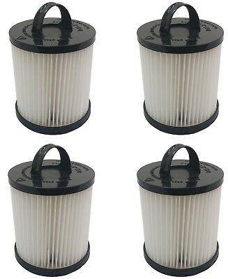 (4) Hepa Dust Filter For Eureka Ef-91 Ef91 Ef-91b Ef91b Vacuum